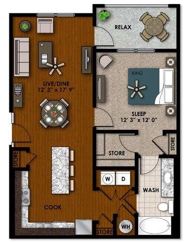 One Bedroom Apartment Rental In Miramar Florida One Bedroom Apartment Rental Apartments One Bedroom