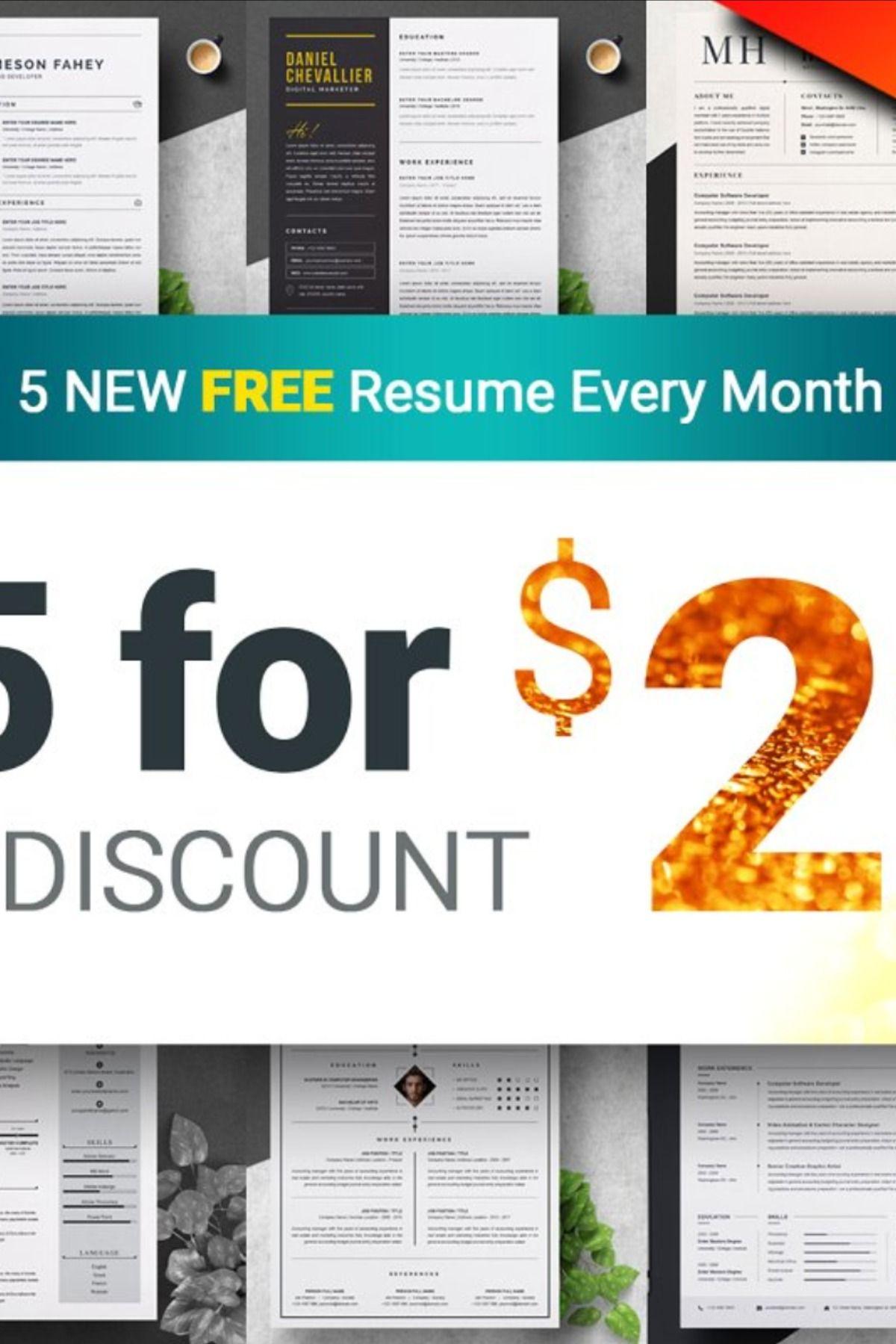 Resume / CV Bundle 100 for 29 Downloadable resume
