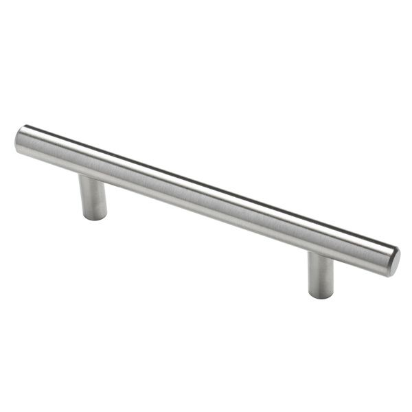 Overstock Kitchen Cabinet Pulls: GlideRite 6-inch Solid Stainless Steel Finished Smooth