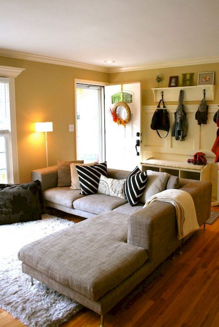 35+ Top Living Room Remodel Ideas on A Budget   Small ... on Awesome Apartment Budget Apartment Living Room Ideas  id=49744