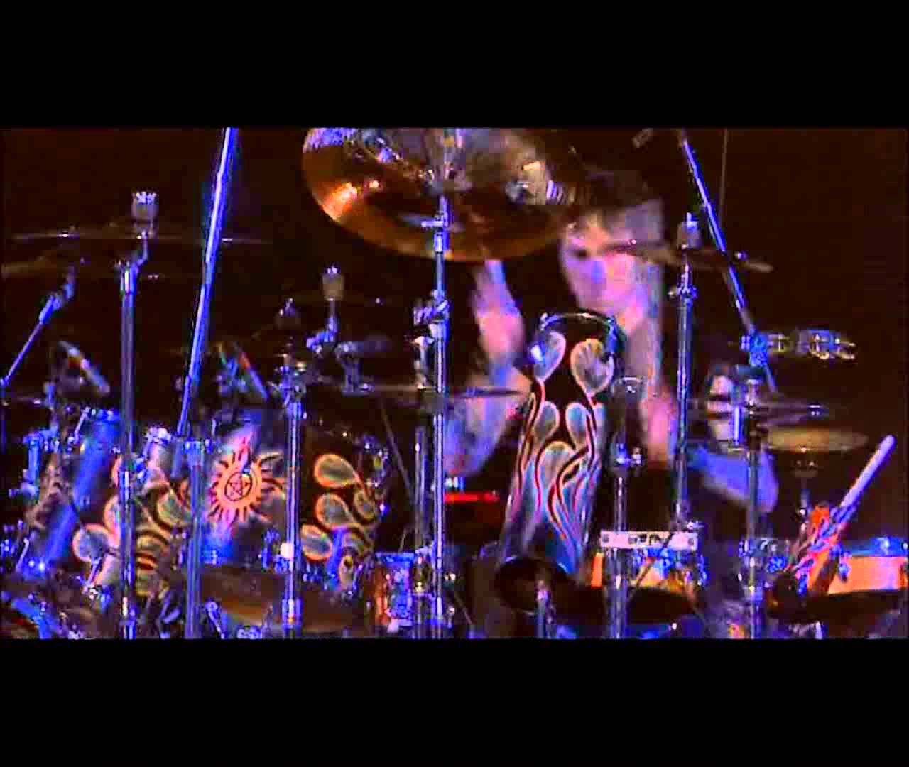 Godsmack Drum Duel Hd 1080p Sully Erna Rock Music Sully