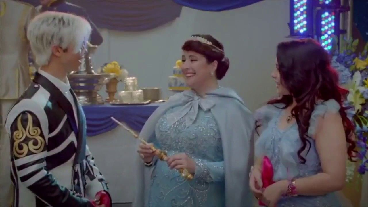 Carlos And Jane Tell Fairy Godmother They Re Together