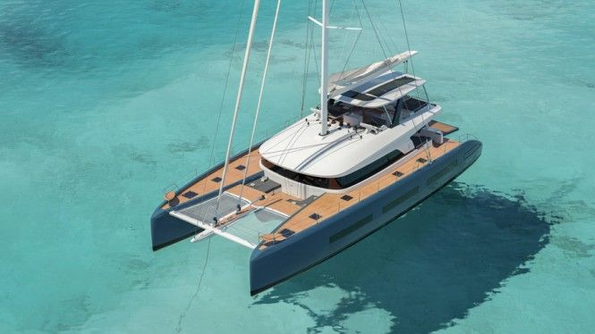 Exterior Images For He New Lagoon SEVENTY 7 Catamaran Yacht