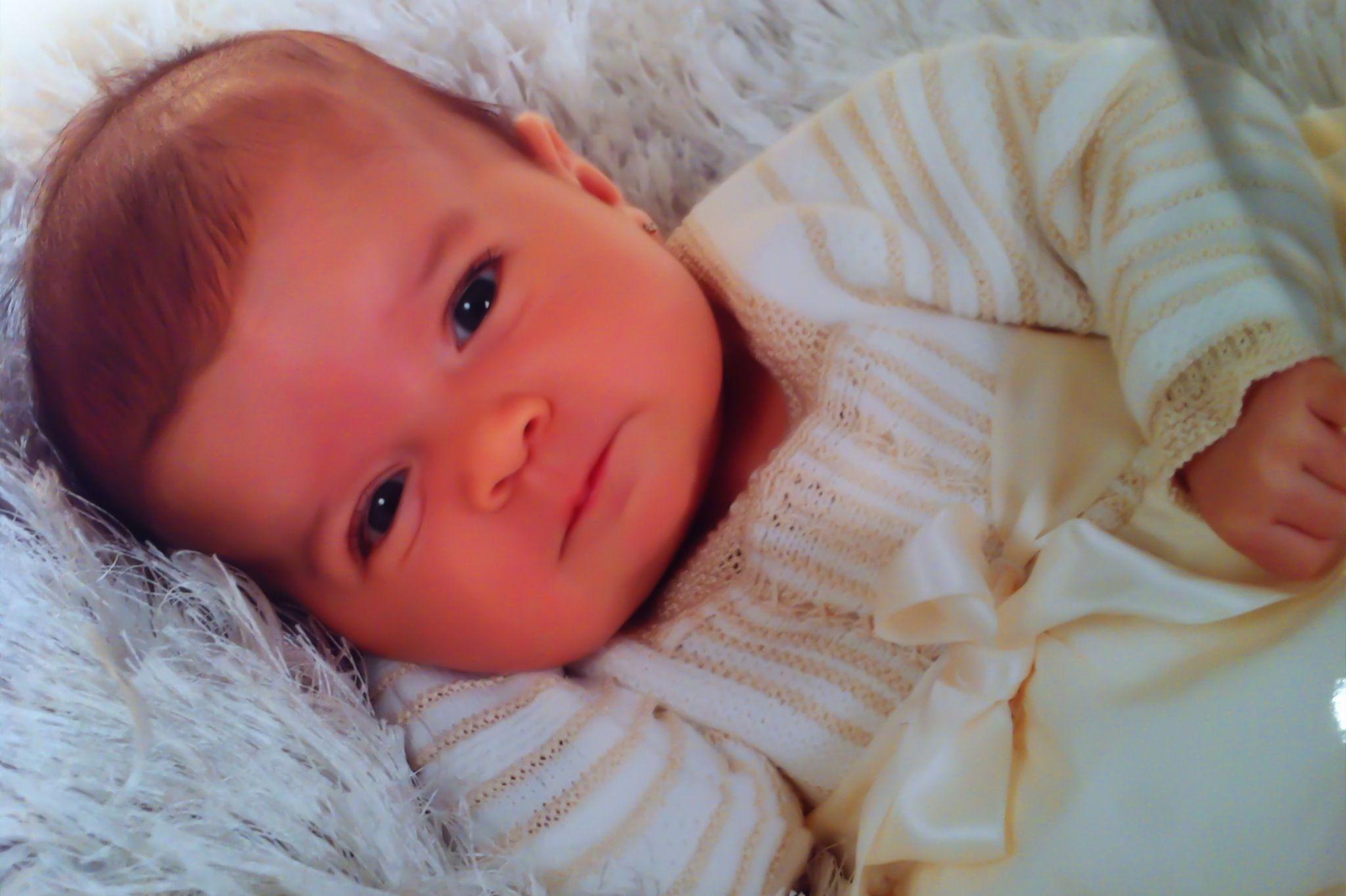 Pero que hija tan guapa tengo!!! (amor de padre).