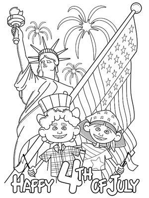 Printable Summer Coloring Pages Kid printables, School s and Summer - new 4th of july coloring pages preschool
