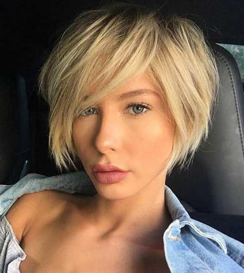 Short Edgy Hairstyles For Fine Hair Bobhairstylesforfinehair In 2020 Short Haircuts Fine Hair Haircuts For Fine Hair Trendy Short Haircuts