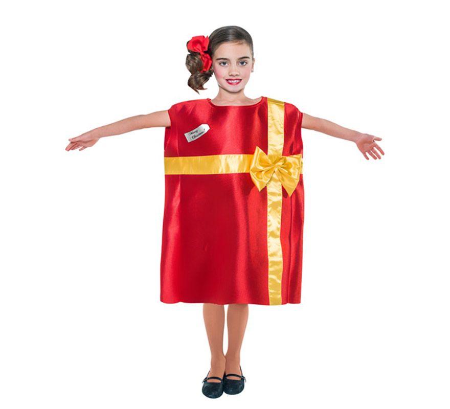 Disfraz de regalo disfraces pinterest regalos para - Disfraces infantiles navidad ...
