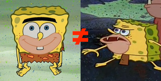 the one on the left is spongegar from season 3 episode 14