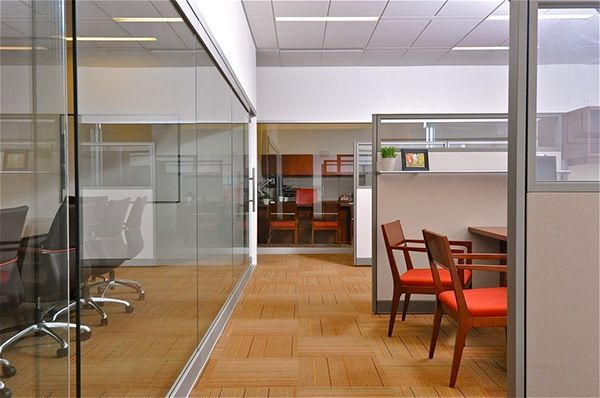 The Design For This Agent S Office Was Inspired By The Solid And