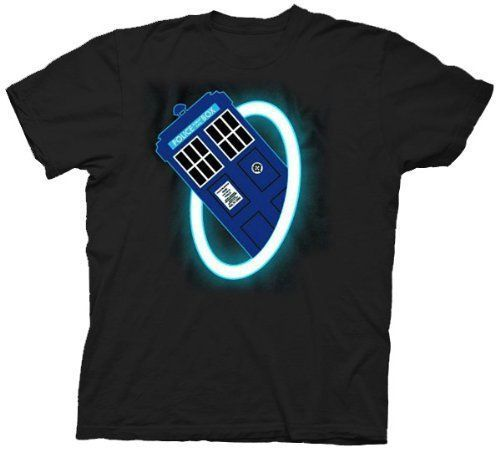Doctor Who & The Daleks Time Warp Police Box T-shirt