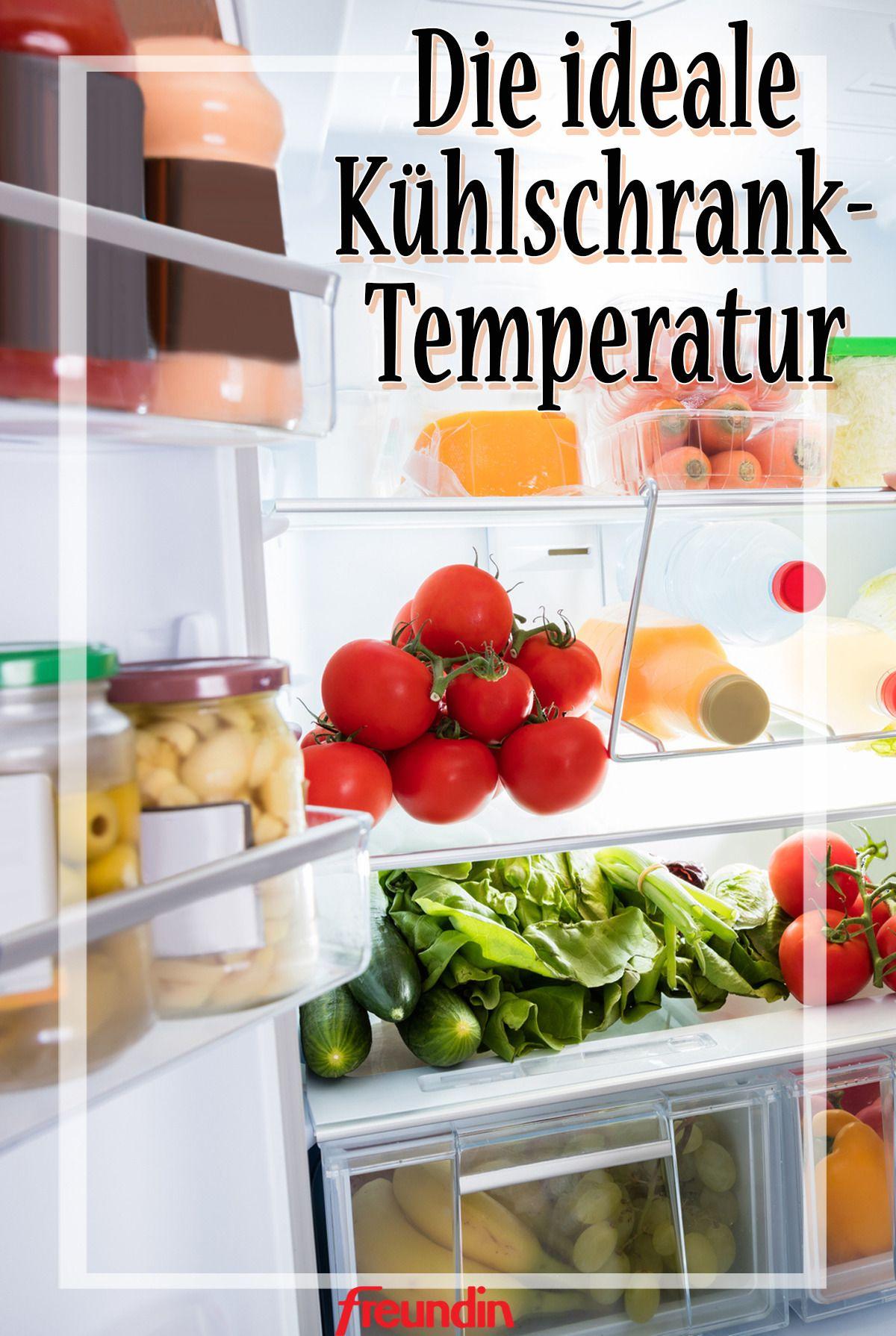 Wie Kalt Sollte Ein Kühlschrank Sein