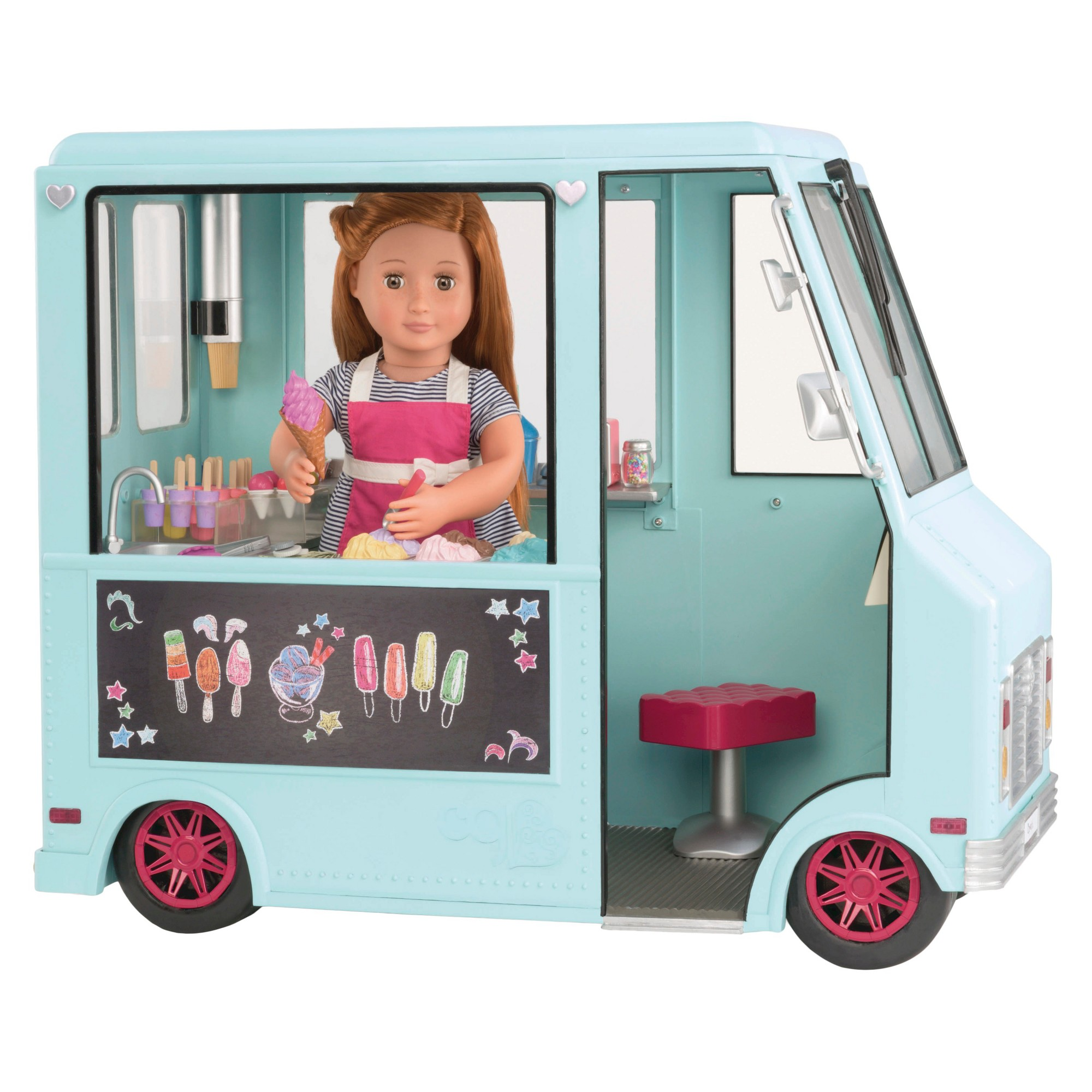 Our Generation Sweet Stop Ice Cream Truck - Light Blue | Products ...