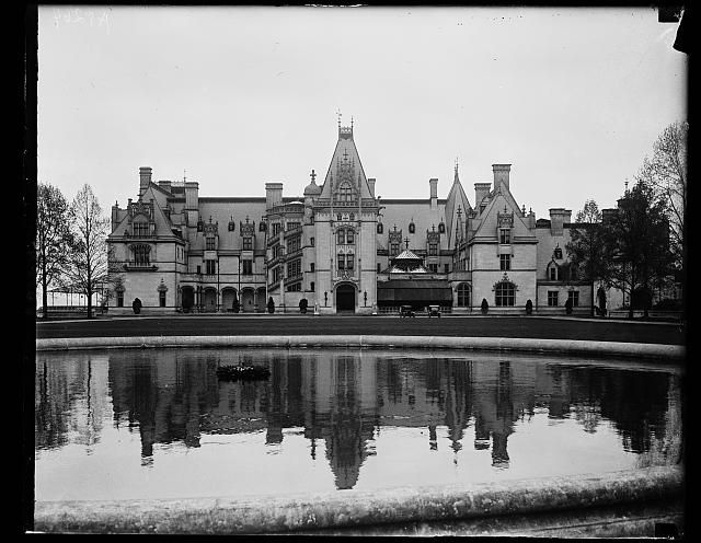 Vanderbilt home at Biltmore, N.C. 3 miles from village of Biltmore where Lord Cecil and his bride will reside following the wedding. April 29