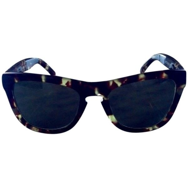 9250bed032f Pre-owned Westward Leaning Louisiana Purchase Sunglasses featuring polyvore  women s fashion accessories eyewear sunglasses tortoise tortoise shell ...