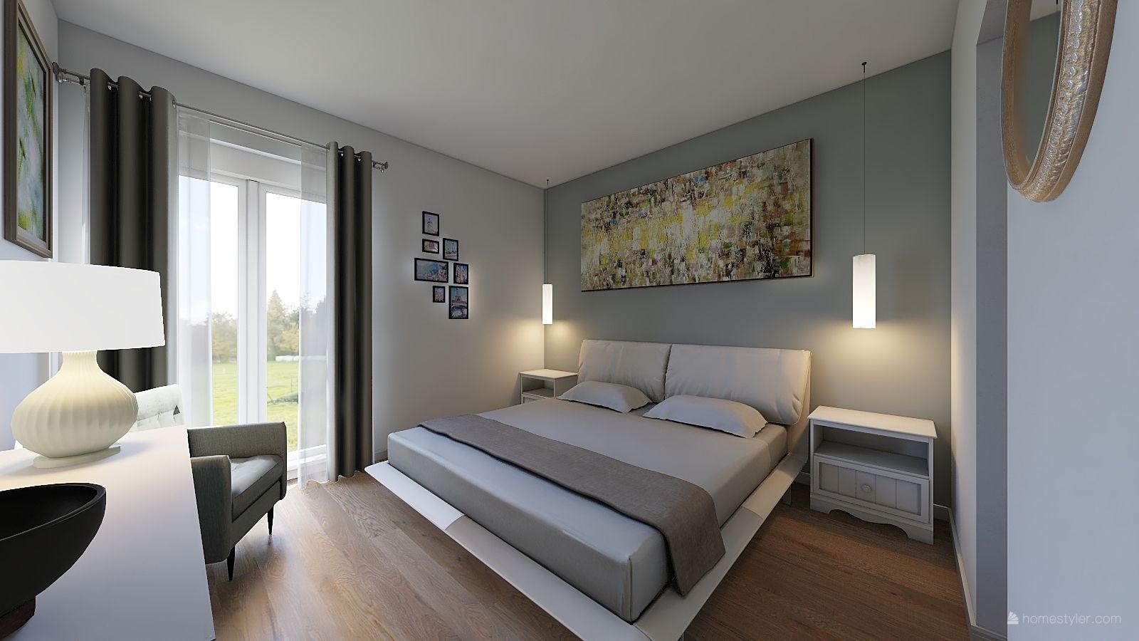 Bedroom design by Claudia Figalli #interior #bedroom in 2019 ...