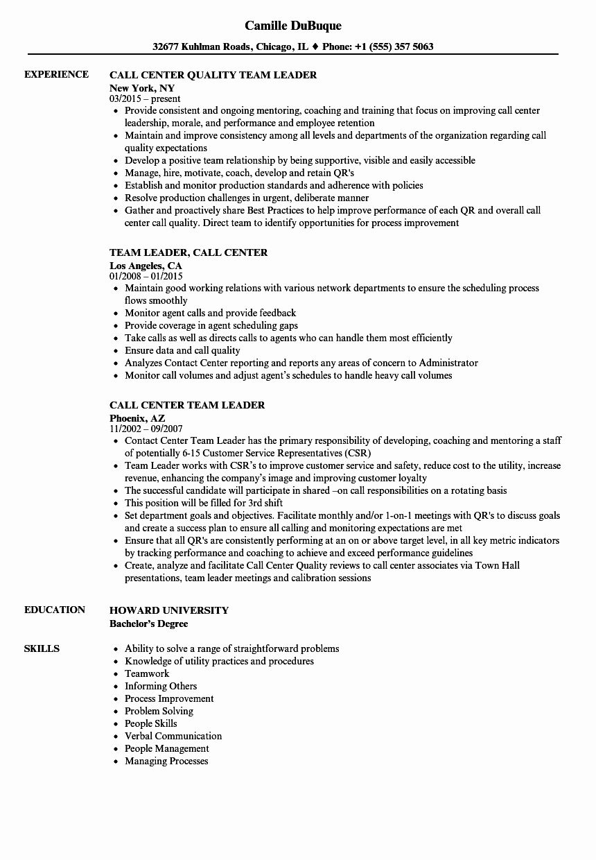 23 call center resume examples in 2020 resume examples