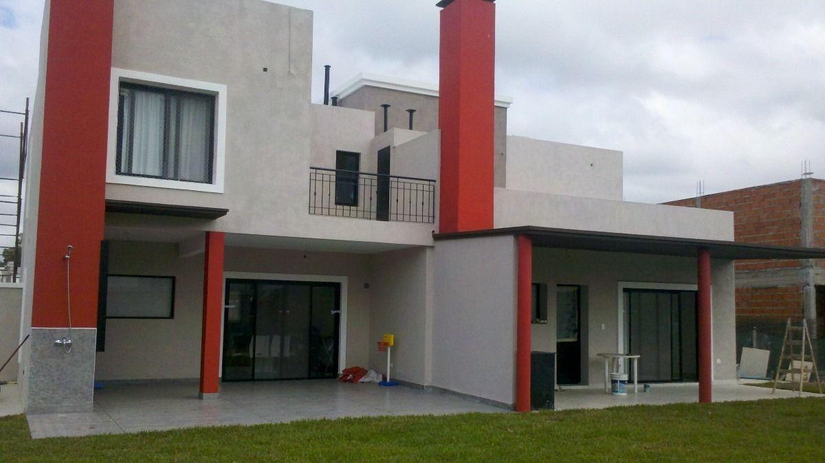 Gris Y Rojo Fachada Buscar Con Google Casas Gris Y Rojo Fachadas