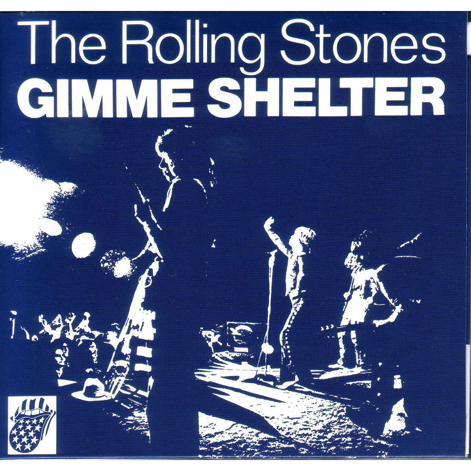 Gimme Shelter Vinyl Cover Rolling Stones Rolling