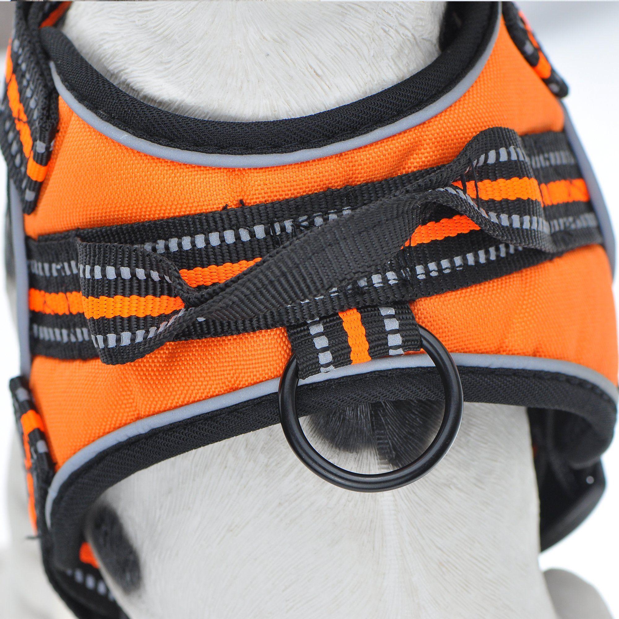 Dog Vest Soft Mesh Harness 3M Reflective Safety Band