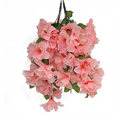 Clearance 6 x bunches artificial hanging silk flowers artificial clearance 6 x bunches artificial hanging silk flowers artificial plants trees mightylinksfo