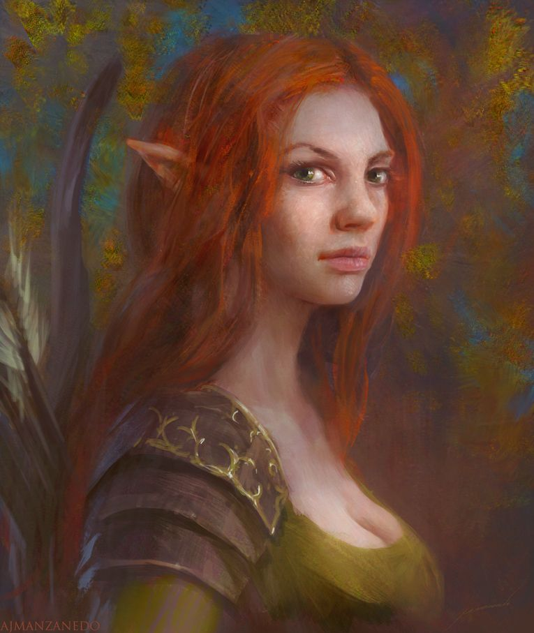 Redhead fantasy dungeons dragons necessary