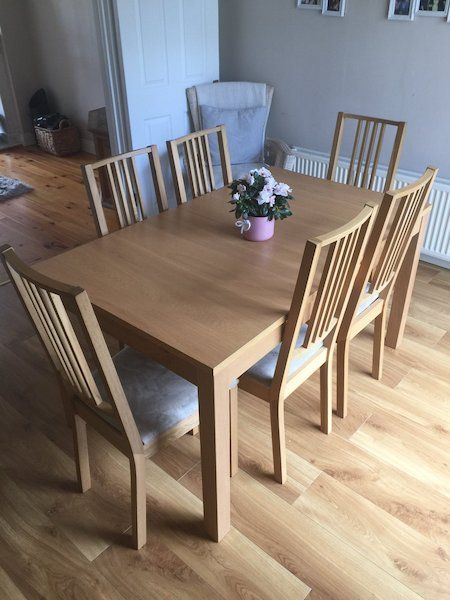 Extendable Dining Table With  Chairs For Sale In Dublin On Donedeal