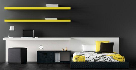 Dormitorios minimalistas juveniles via for Dormitorios minimalistas pequenos