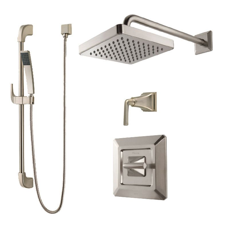View the Pfister B89-7FE Park Avenue Shower System with Valve Trim ...