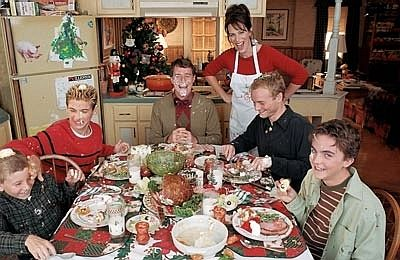 Malcolm In The Middle Christmas.Malcolm In The Middle Dinner Google Search Awesome Shows