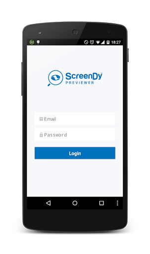 While you're building your app, you'll want to see it on your smartphone as soon as you can. That's only logical.And you can do that with the ScreenDy Previewer. The Previewer is an app that you install on your phone. It shows you what your app looks like on your phone, immediately. You do the actual building on your Screend.com.<br>    Simply download the Previewer, login with your ScreenDy credentials and preview the app you're making.<br>    The previewer only lets you and others view the…