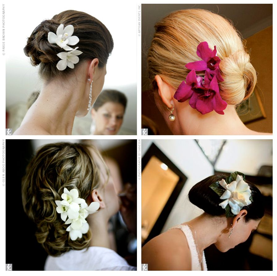 hawiian hair styles tropical flower hair styles add some flowers to your 4587