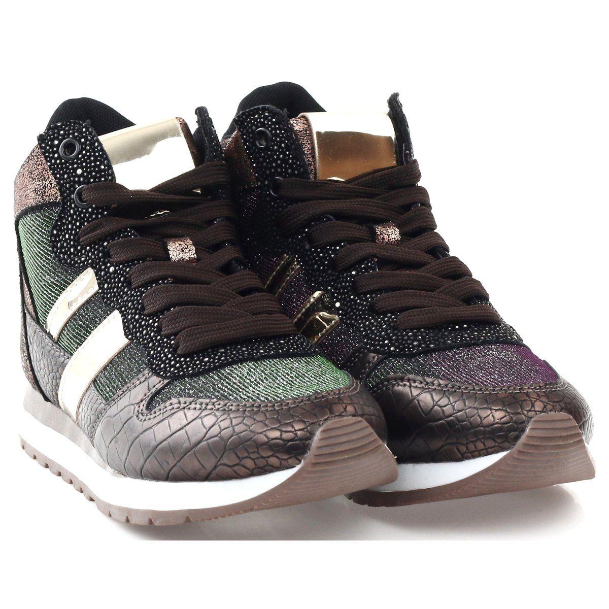 Mcarthur Buty Sportowe Bezowy Miedziane Wielokolorowe Zloty Shoes Sneakers Fashion