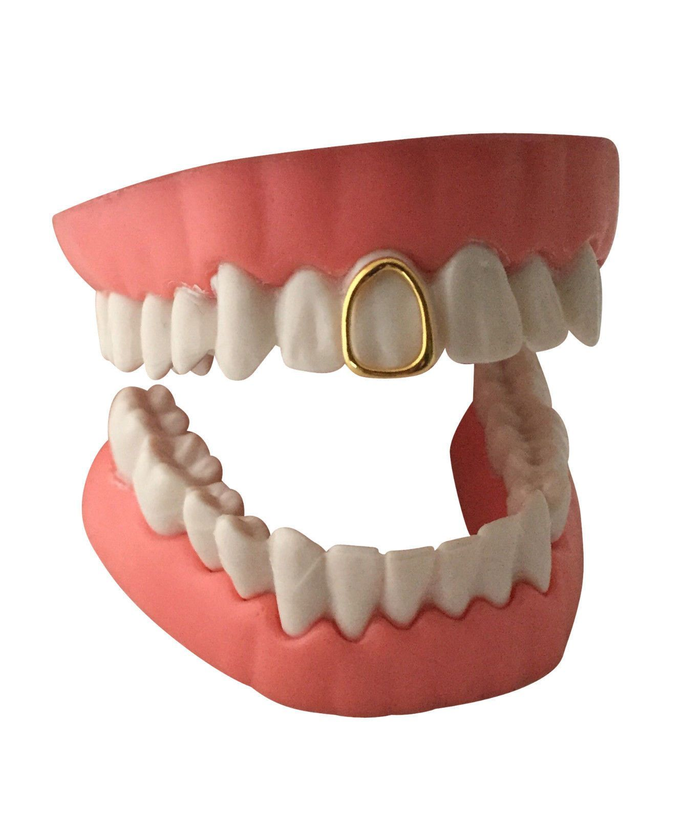 Open Face Grillz Grill 14K GP Single Tooth Cap w Mold Kit in 2019 ... 3e49b23e98a5