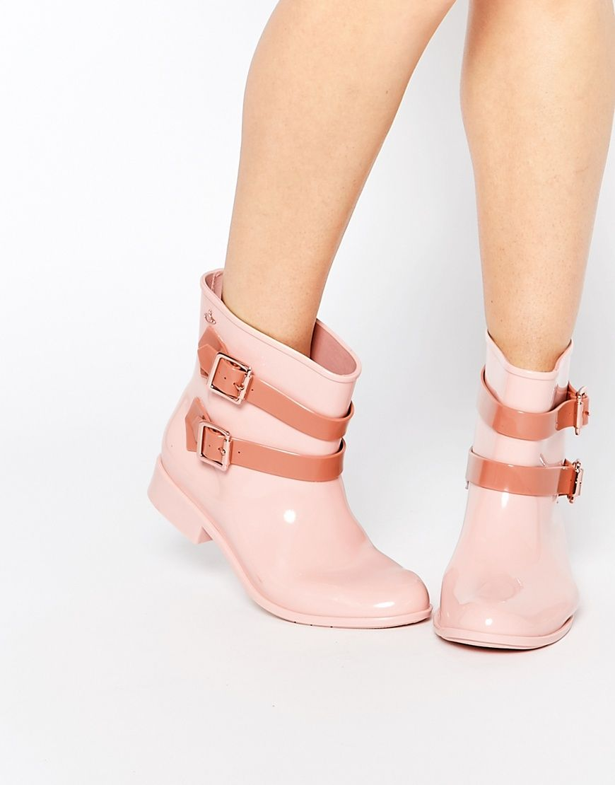 Buy Women Shoes / Vivienne Westwood For Melissa Nude Pirate Ankle Boots