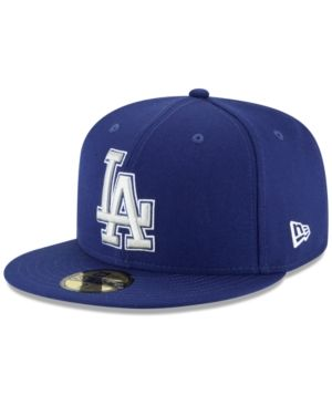 info for 88eca 4f5e9 New Era Los Angeles Dodgers Banner Patch 59FIFTY Fitted Cap - Blue 7 5 8
