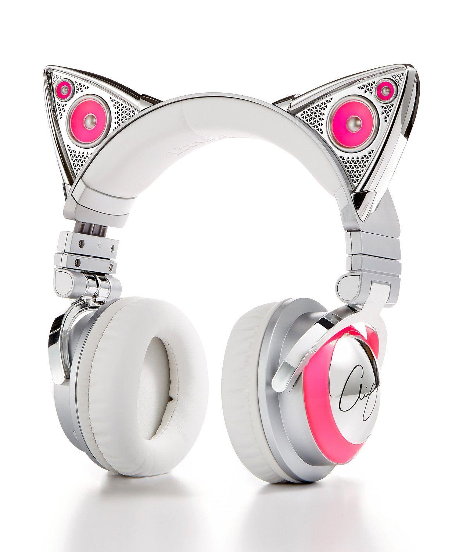 Brookstone Bluetooth Ariana Grande Cat Headphones macys