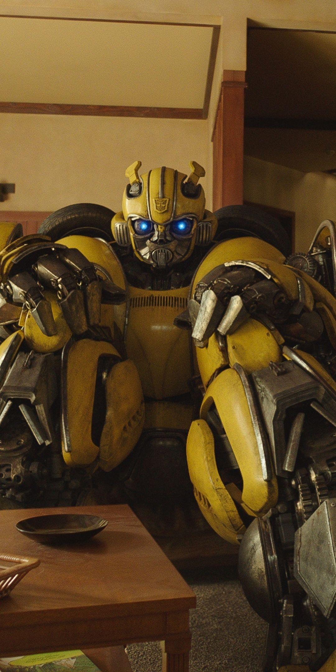 Bumblebee Robot Transformers Movie 1080x2160 Wallpaper Transformers Transformers Bumblebee Transformers Autobots