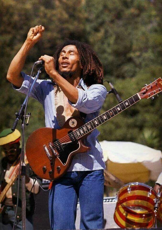 Bob Marley live at Santa Barbara County Bowl, California ...