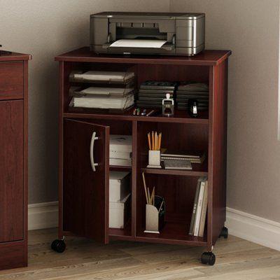 Royal Cherry South Shore Axess Small Desk
