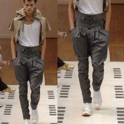 Clipsuper Com High Waist Trousers Men Men S Fashion Mens High