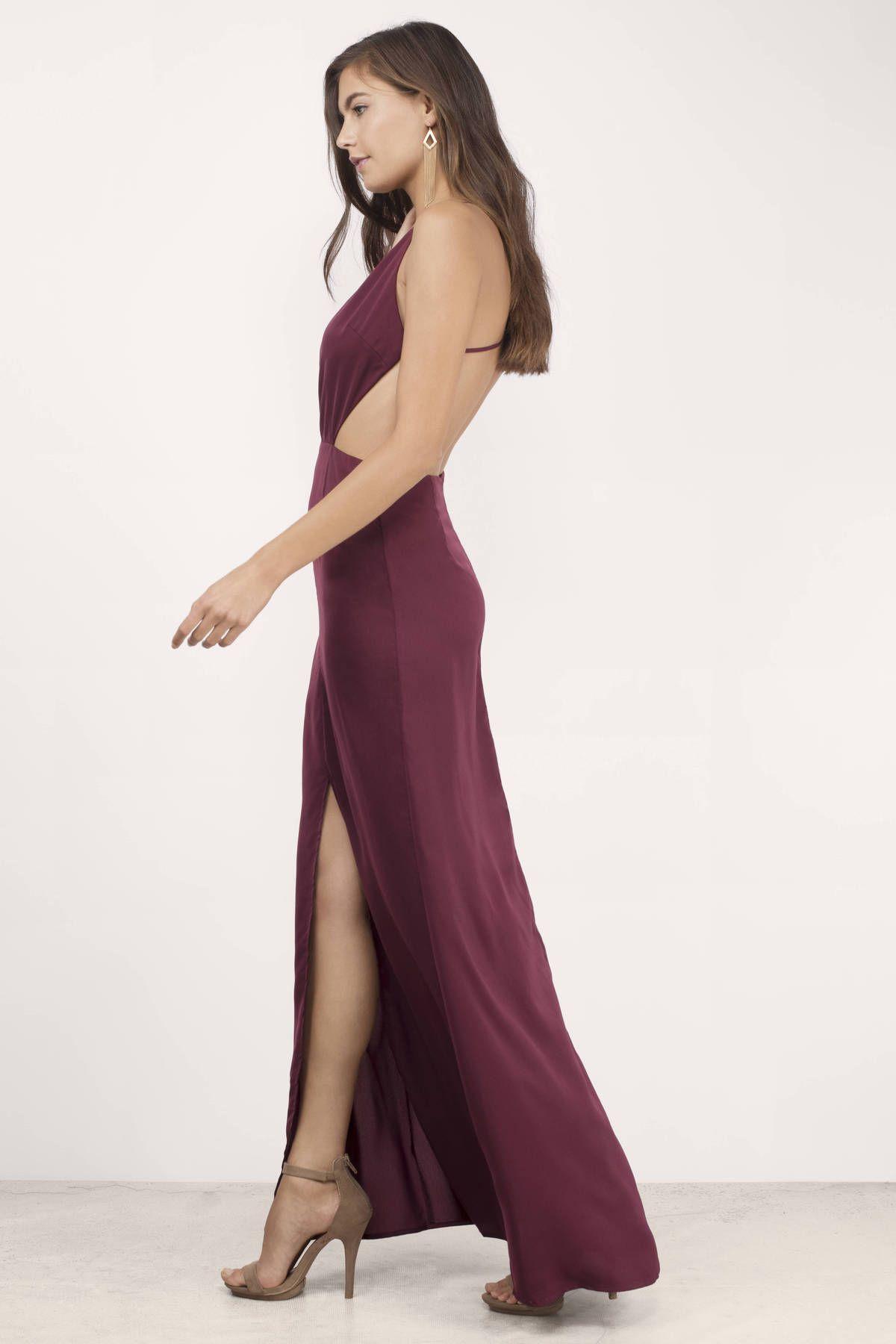 c5d579554bf test page 6, Tobi, Wine Bold Move Maxi Dress | prom | Pinterest ...