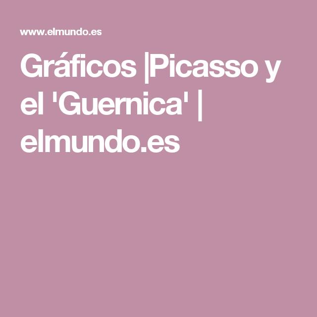 Gráficos |Picasso y el 'Guernica' | elmundo.es