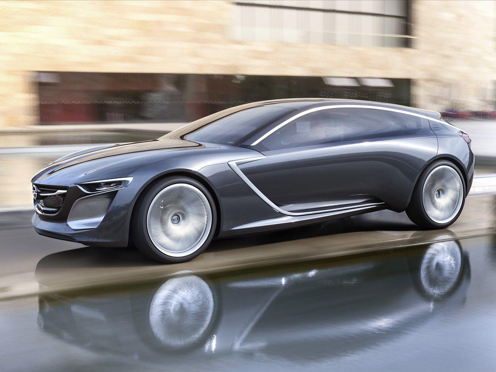 2013 Frankfurt Motor Show the German Opel Monza Concept.