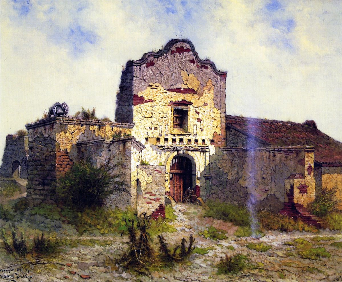 Mission san diego de alcal edwin deakin 1899 for Mission home