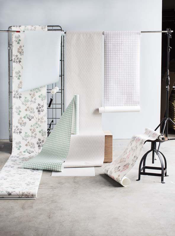 Karwei de scandinavische behangstijl bevat rustige prints en pastelkleuren wooninspiratie - Meisje kamer sfeer ...