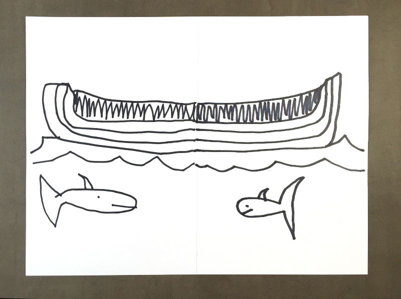 Easy and fun drawing game idea - from the book Tangle ARt and ...