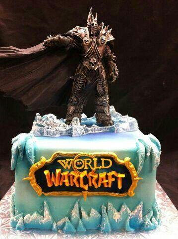 Lich king World of Warcraft | Cakes | Birthday cake, Bithday cake ...