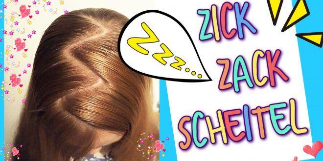 Zick Zack Scheitel So Gehts Coole Mädchen Zöpfe Frisuren