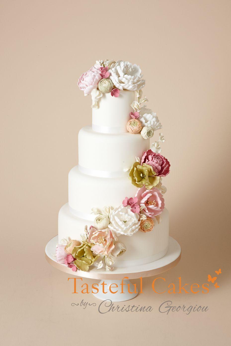 Pin by Vanda Desiree on ◇◇Wedding Cakes◇◇ | Pinterest ...