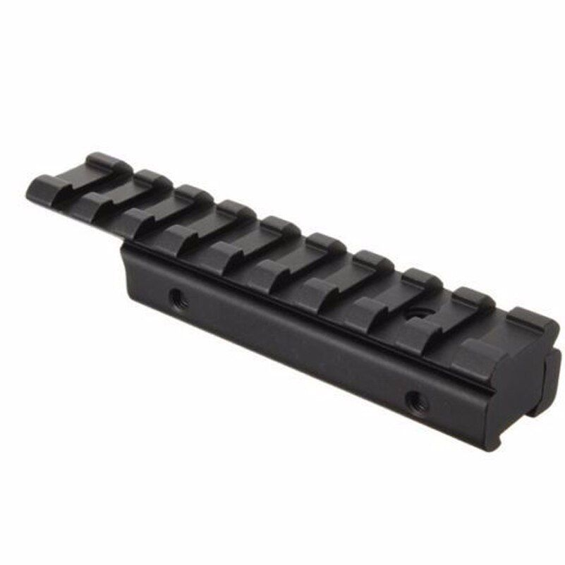Tactical Scope Mount Base Adapter Rifle Ring Weaver Picatinny Rail for Hunting